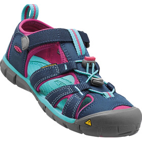 Keen Seacamp II CNX Sandals Kids poseidon/very berry